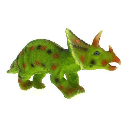 Dinosaurio con Sonido Triceratops Verde
