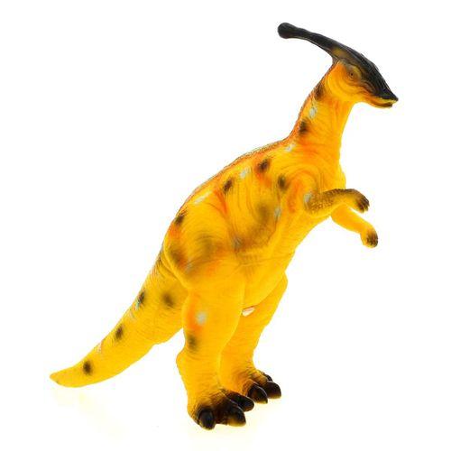 Dinosaurio con Sonido Parasaurolophus Amarillo