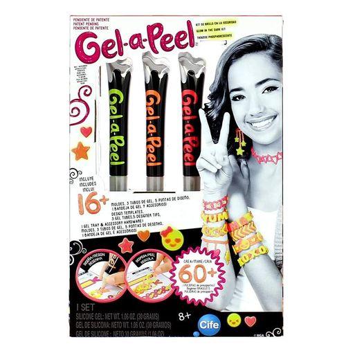 Gel a Peel Kit Colores de Neón