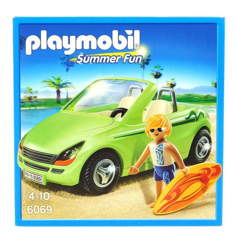Playmobil-Surfista-con-Descapotable