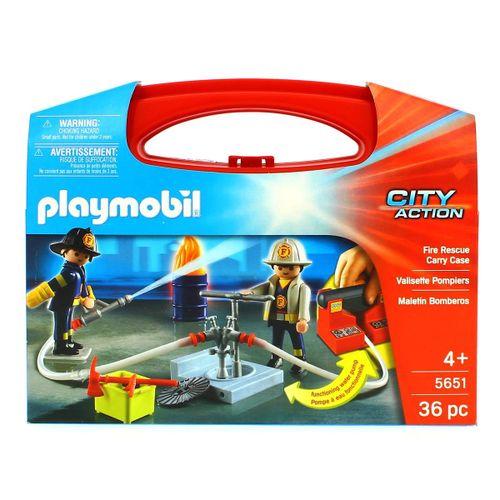 Playmobil Maletín de Bomberos