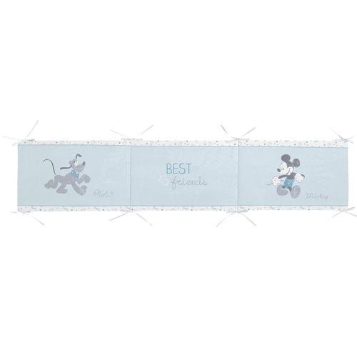 Protector cuna 60 Mickey/Pluto Azul
