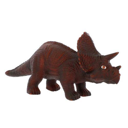 Dinosaurio con Sonidos Triceratops Marrón