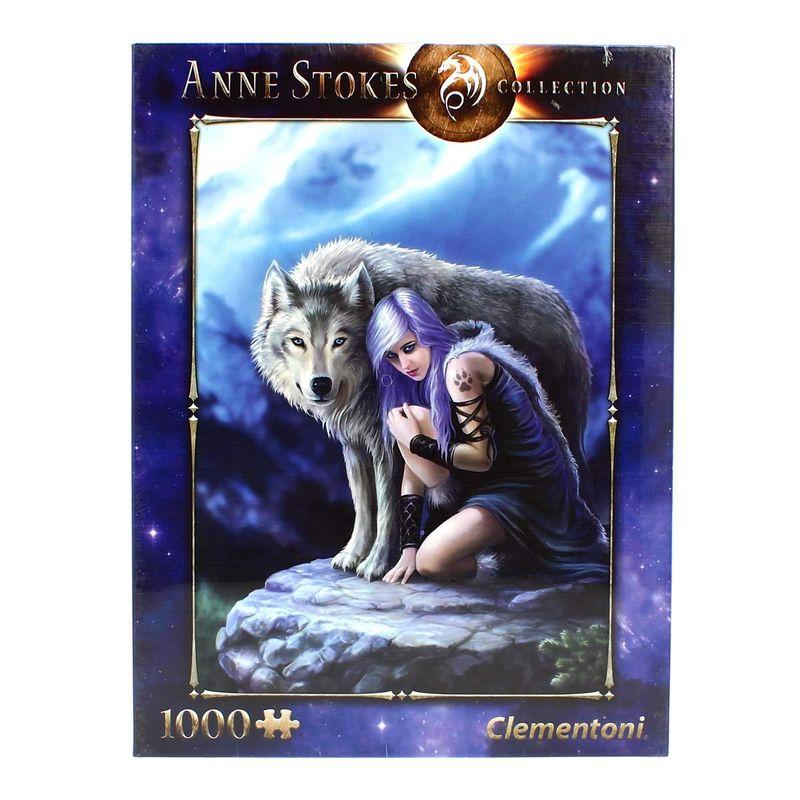 Puzzle-Anne-Stokes-el-Protector-de-1000-Piezas