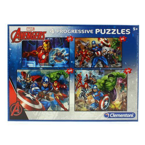 Los Vengadores Puzzle Progresivo