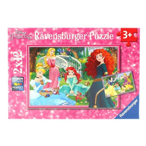 Princesas Disney Puzzle 2x12