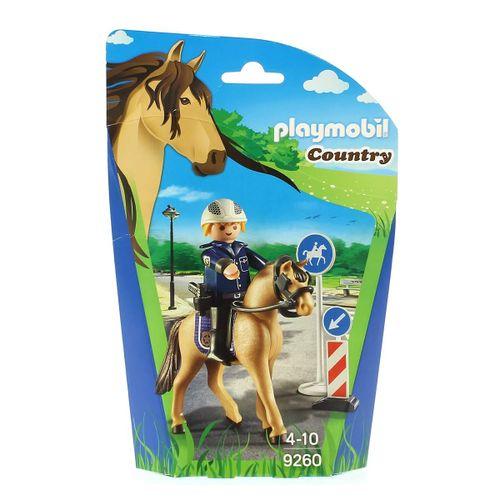 Playmobil Country Policía Montada