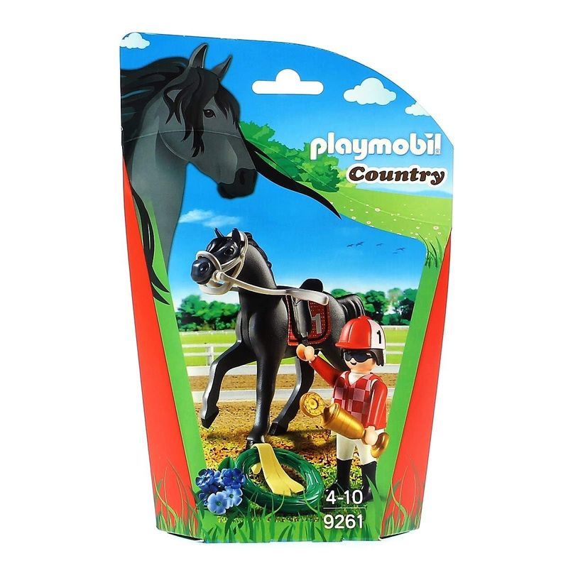 Playmobil-Country-Jockey