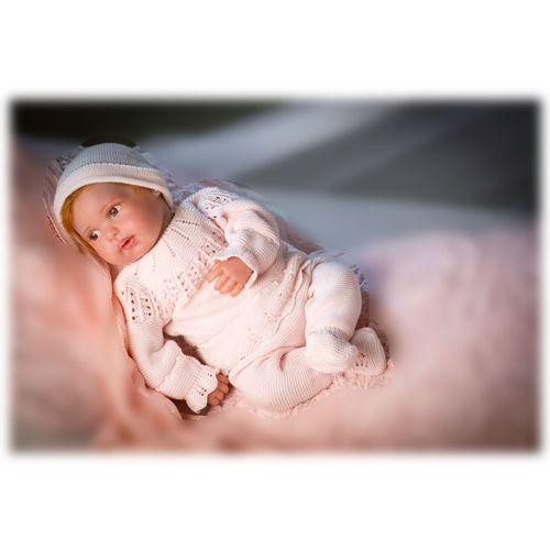 Reborn Bebé Mies con Traje Rosa