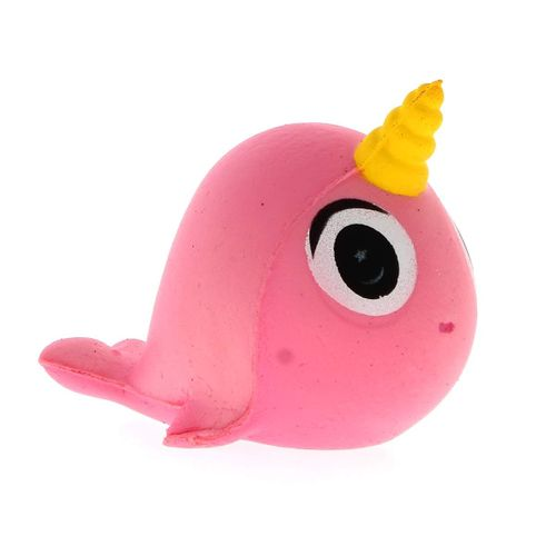 Squishy Narval Rosa