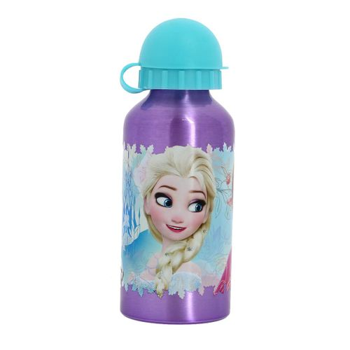 Botella de Aluminio 400 Ml Frozen