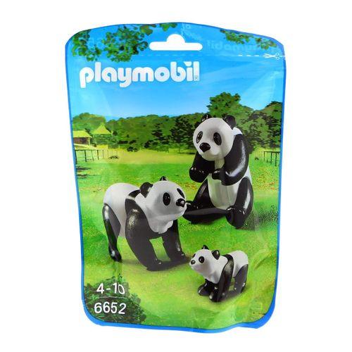 Playmobil City Life Familia de Pandas