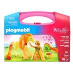 Playmobil-Princess-Maletin-de-Princesa-con-Caballo-Fantasia