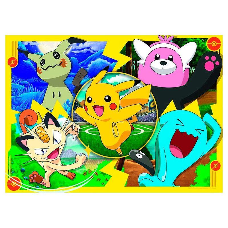 Pokemon-Puzzle-4x100-Piezas_1