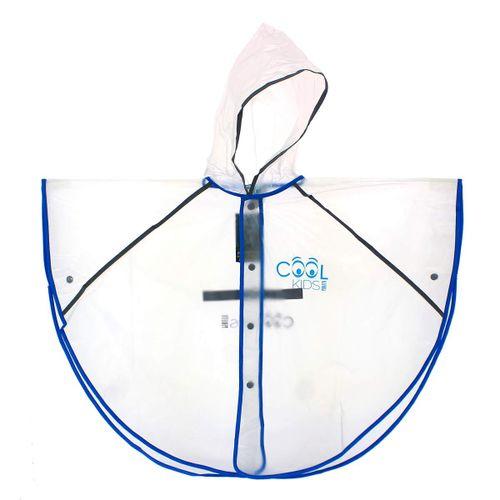 Chubasquero Impermeable Reflectante Azul