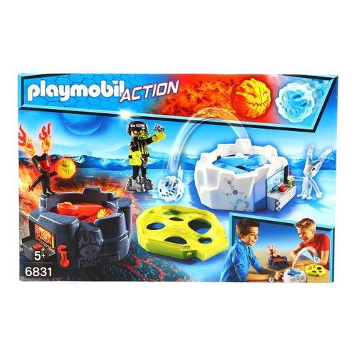 Playmobil Robot Hielo y Fuego Combate