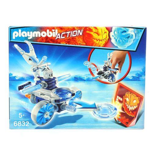 Playmobil Robot de Hielo con Lanzador