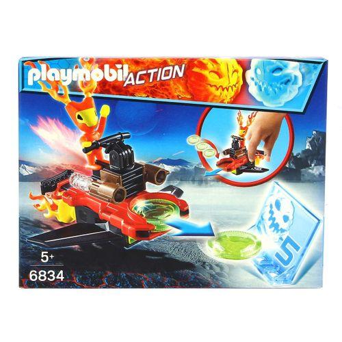 Playmobil Robot de Fuego Lanzador