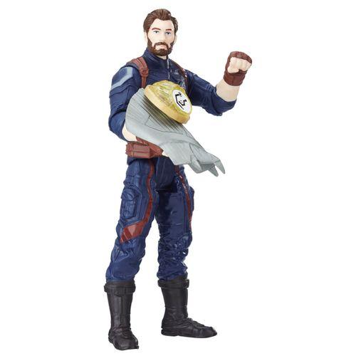 Vengadores Capitán América con Gema y Accesorio
