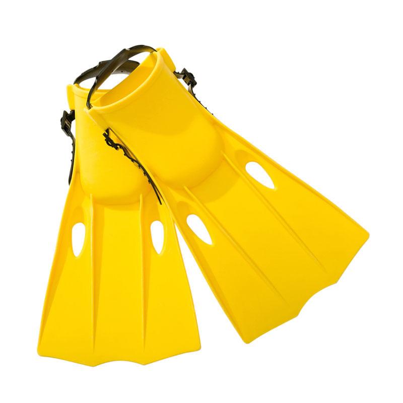 Aletas-de-Buceo-Amarillas