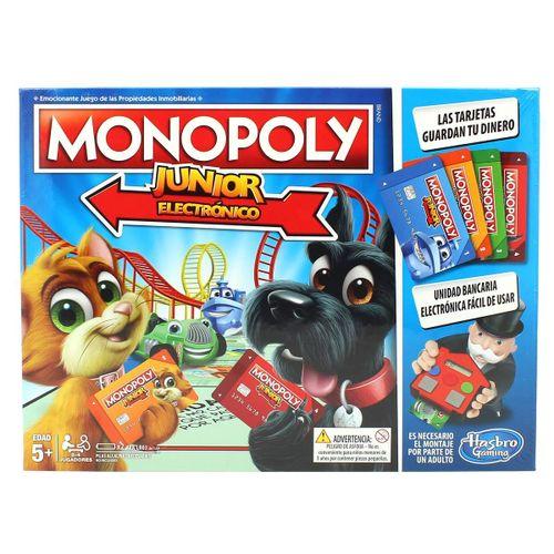 Monopoly Junior Electrónico