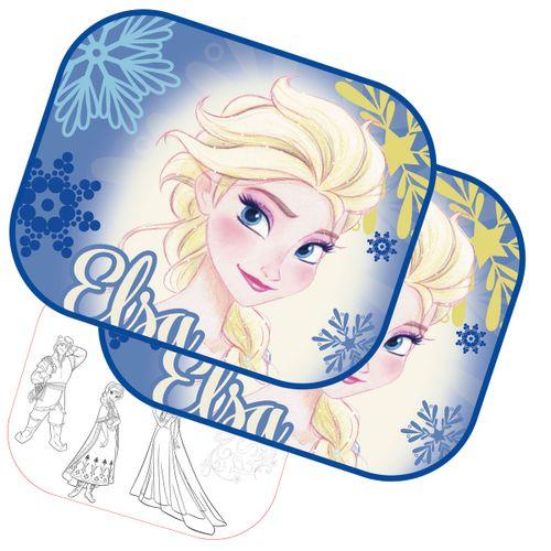 Pack 2 Parasoles Frozen + Lámina para pintar