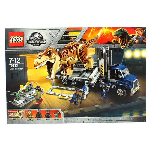 Lego Jurassic World Transporte del T-Rex
