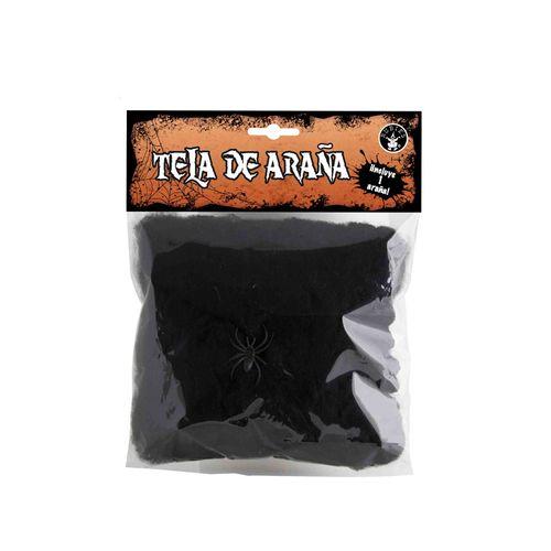 Bolsa Mini Telaraña Negra