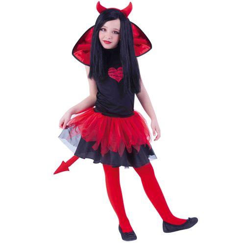 Disfraz Infantil Diablesa Tutú Weens