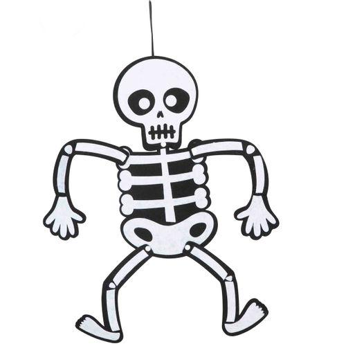 Esqueleto Móvil de Fieltro