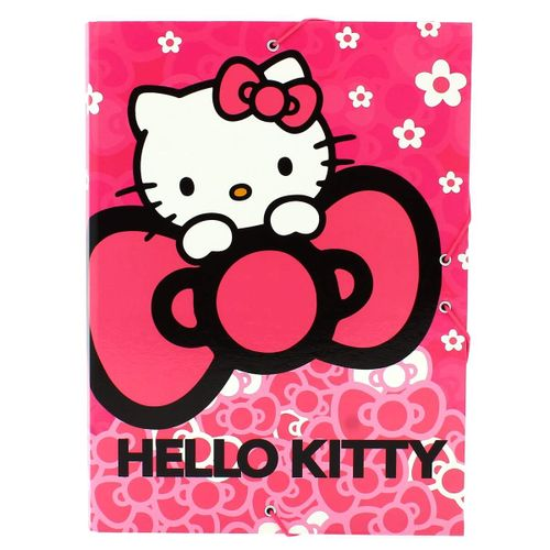 Hello Kitty Carpeta Escolar Rosa