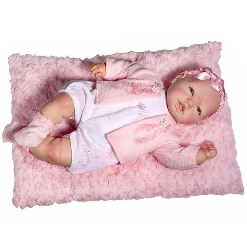 Muñeca Baby Reborn Pelele y Rebeca Lana