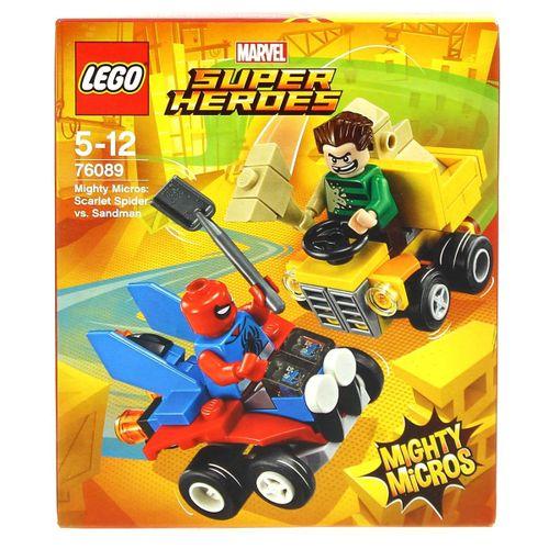 Lego Marvel Super Heroes Spiderman VS Sandman