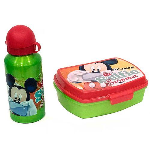 Mickey Mouse Sandwich con Cantimplora