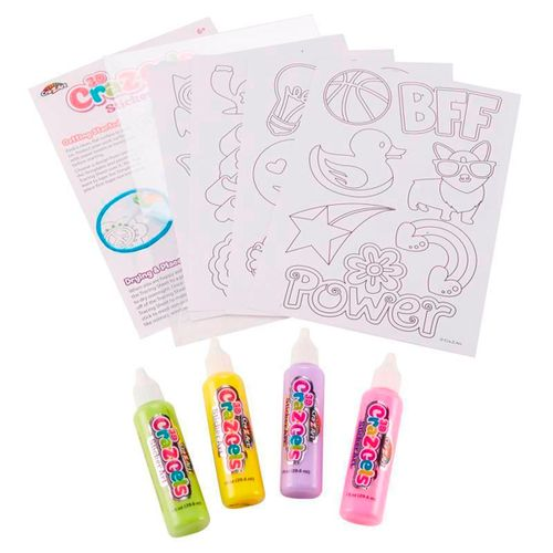 Cra-Z-Art 3D Sticker Art Pop Colors