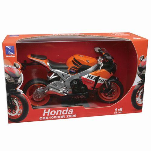 Moto Miniatura Honda CBR Repsol Escala 1:6