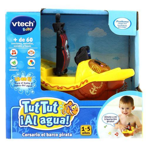 Tut Tut Al Agua Corsario el Barco Pirata