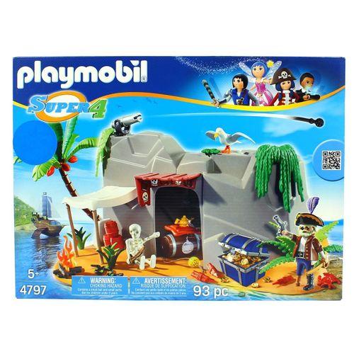 Playmobil Super4 Cueva Pirata