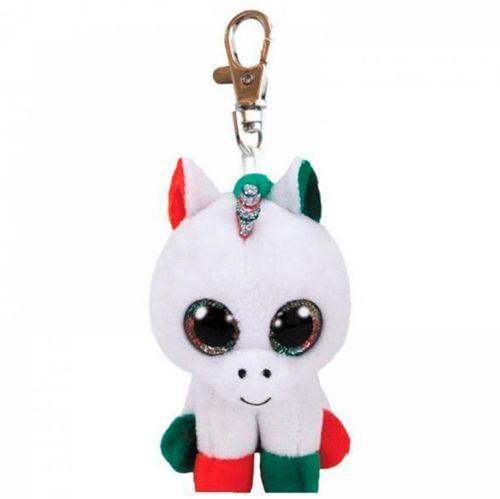 Beanie Boo's Llavero Unicornio de Peluche