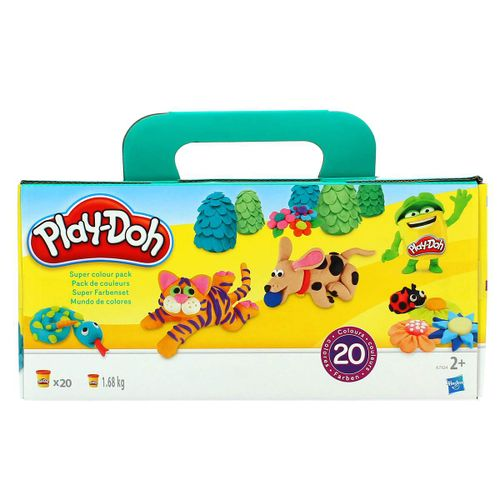 Play-Doh Plastilina Super Color Pack 20 Botes