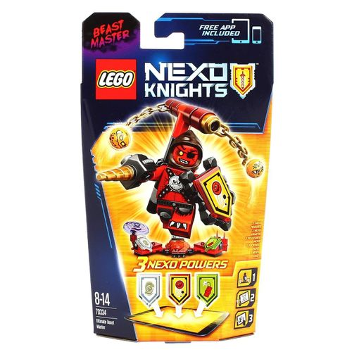 Lego Nexo Knights Maestro de las Bestias Ultimate