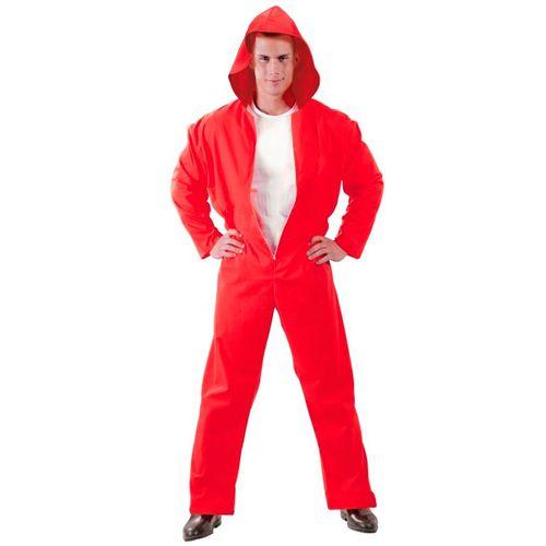 Disfraz Convicto Rojo