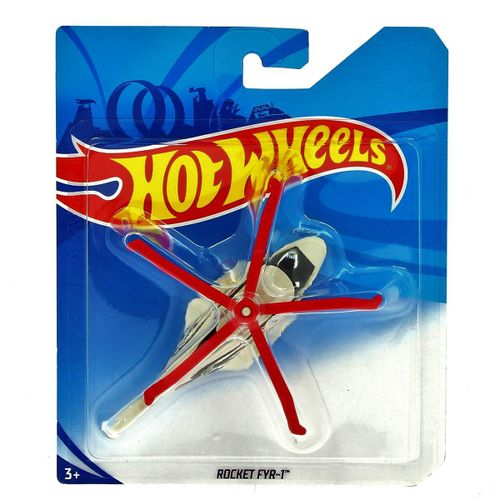 Hot Wheels Helicóptero Rocket FYR-1