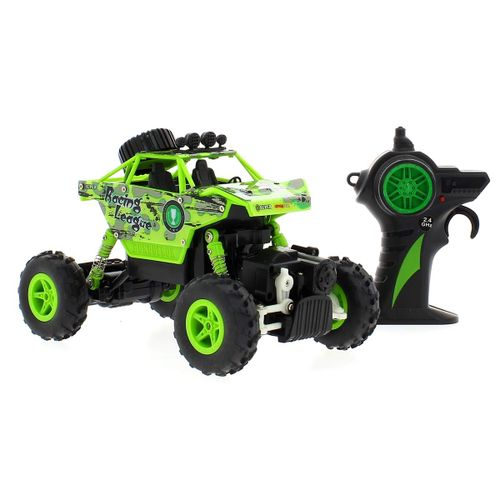 Coche RC King Turned Verde 1:20
