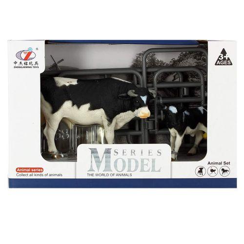 Set de Figuras Vaca con Ternero