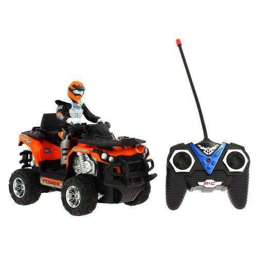 Quad ATV R/C a Escala 1:12