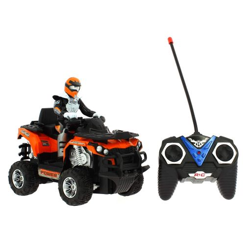 Quad ATV R/C a Escala 1:12