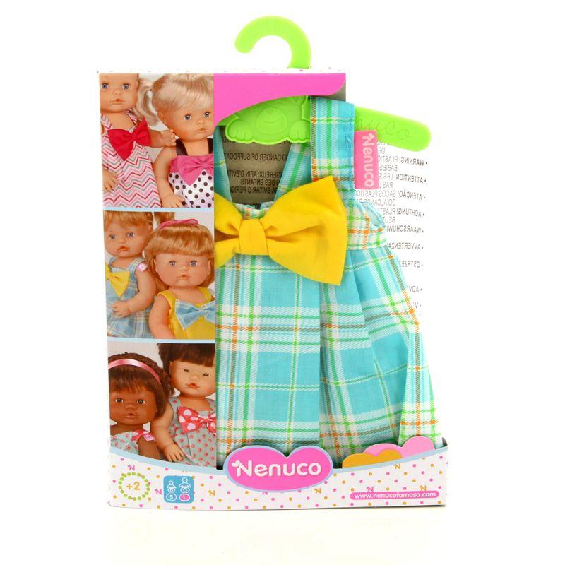 Nenuco-Ropita-con-Percha-Vestido-Cuadros