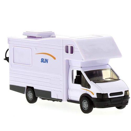 Auto Caravana Sun Miniatura Escala 1:48