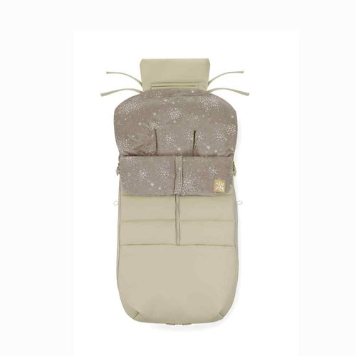 Saco Unviersal Silla Paseo Nest Plus Leather Cream